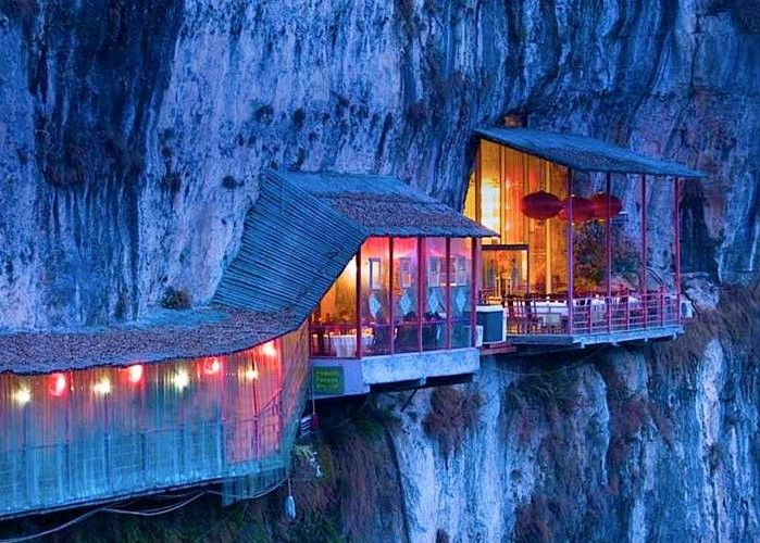 35 Most Amazing Restaurants With A View. #25 Is INSANE.