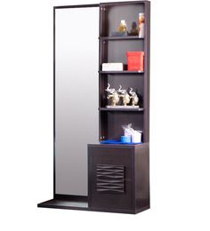<p>A Dressing table is a small table with mirror and one or two rows of drawers to hold...</p>