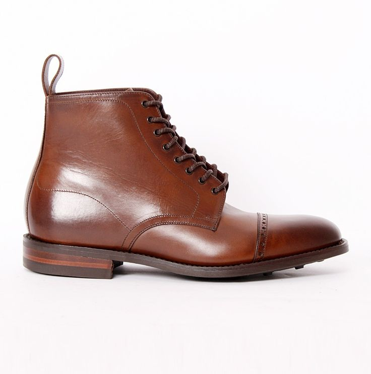 Hyde Dark Brown Calf Derby boots Loake - Fashionisland.se. HydeDerbyDark  BrownLoaferShoe ...
