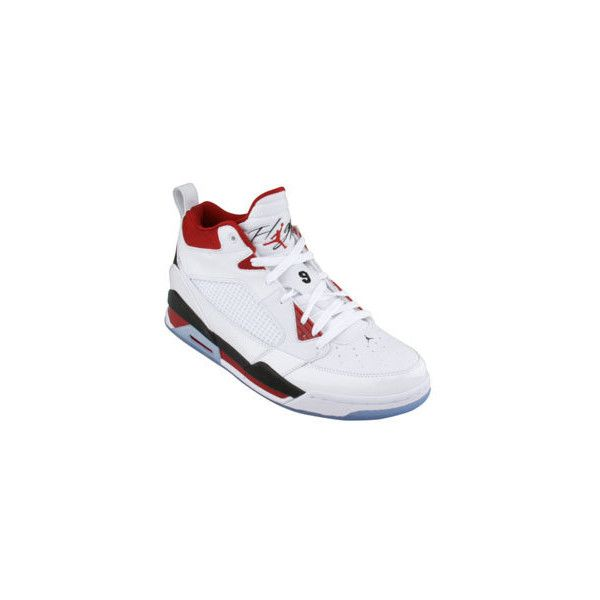 jordan flight 9 white black varsity red shoes 100  liked on