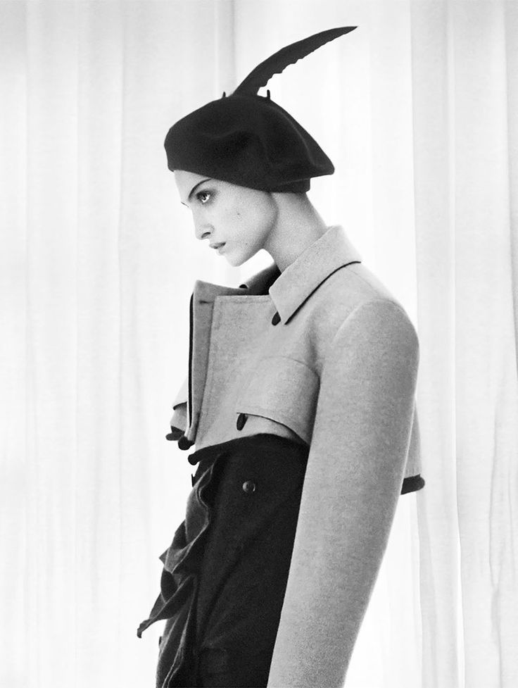 Vogue Paris November 2016 by David Sims | The Fashionography