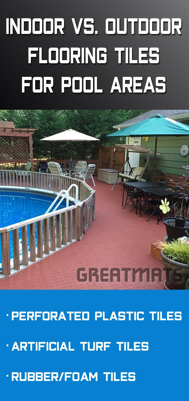 Indoor Vs Outdoor Pool Decking Tiles Pool Decks Pool Deck Tile Fire Pit Backyard