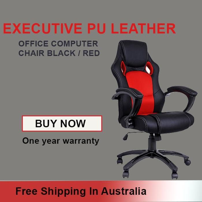 Buy Executive PU Leather Chair online at low price. Shop from a wide range of wooden, metal & leather executive chairs at SignumDeals in Australia. Hurry up and save $11 today!