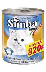 SIMBA - Chunkies with chicken and turkey