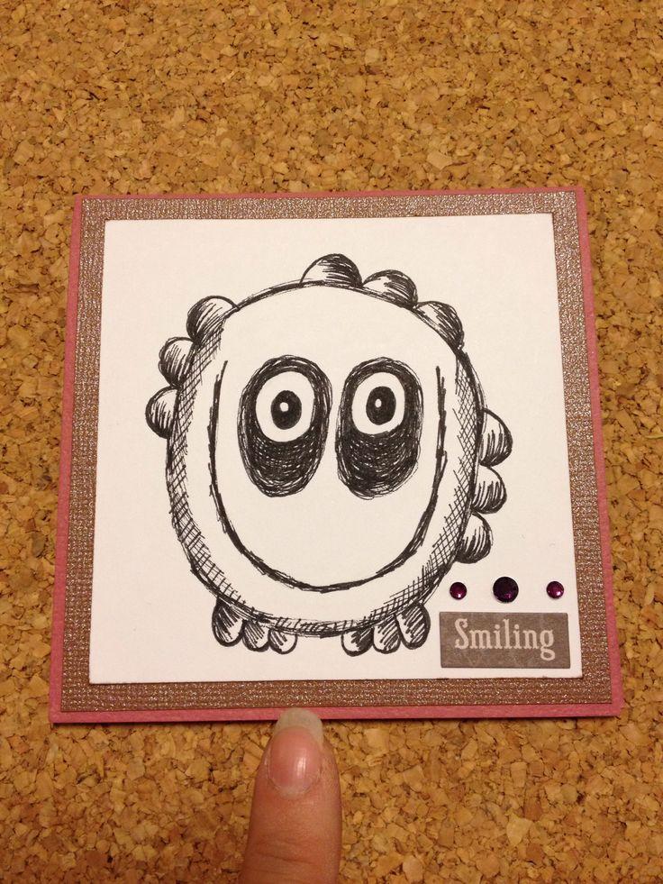 Minimonster kort