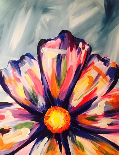The Daisies and the Love Bug at Level 20 Lounge Pittsburgh Paint Nite