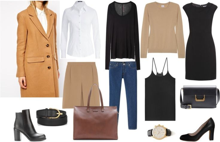 capsule wardrobe warm type
