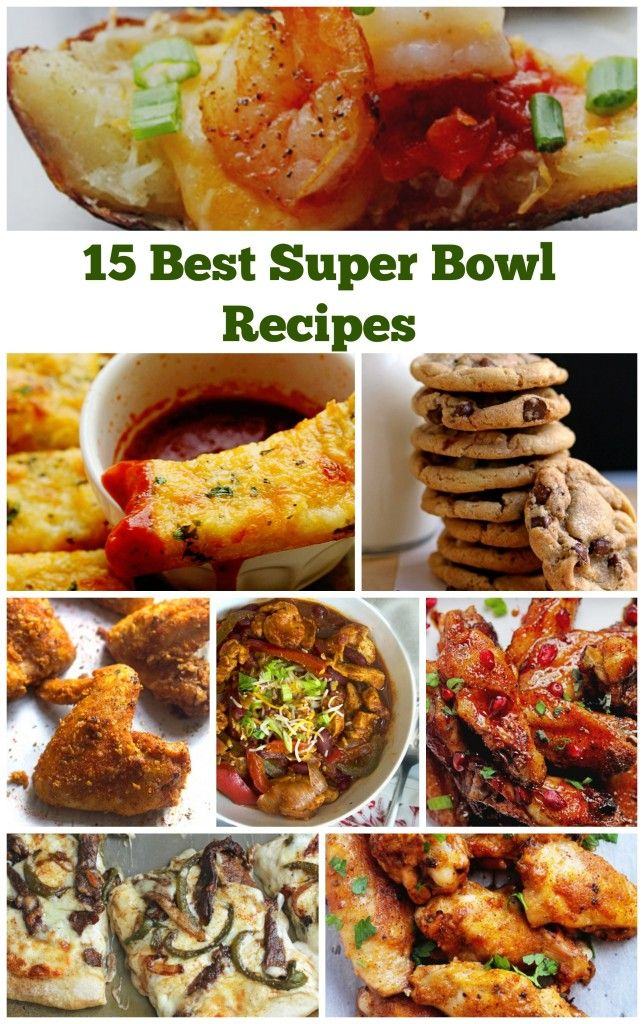 Best Super Bowl Recipes | Grandbaby Cakes
