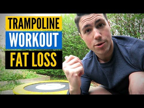 This Mini Trampoline Workout Burns 1,000 Calories an Hour? | Rebounding - YouTube