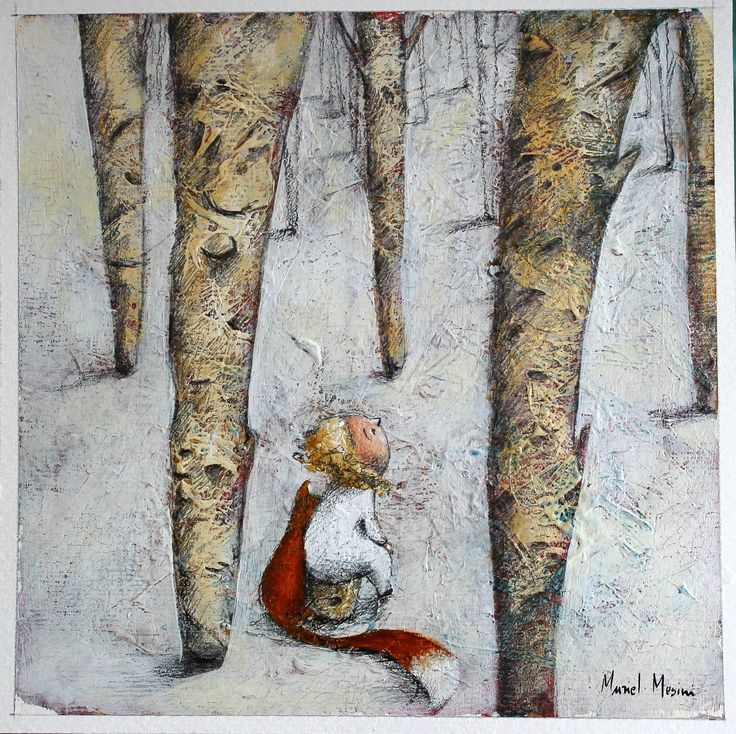 Nel bosco incantato ho un amico http://www.galleria-galp.it/shop/index.php/artisti/muriel-mesini/bosco-incantato-1.html