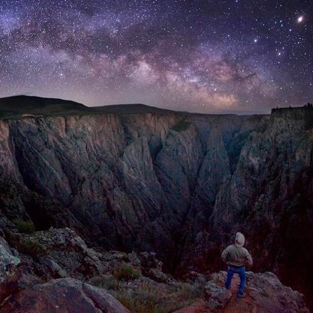 National parks like Black Canyon of the Gunnison in Colorado protect some of the last remaining dark night skies, which remind us of our connection to the cosmos and serve as a critical resource for animals to navigate, mate and hunt. As the saying goes, half the park is after dark -- stay past sunset to experience stargazing and solitude away from city lights. Milky Way photo courtesy of Tyler Nordgren.
