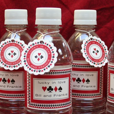 Water bottle labels with tags | Party Ideas | Pinterest ...
