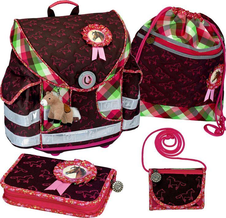 Die Spiegelburg Schulranzen-Set 4-tlg Ergo Style plus Pferdefreunde Kokarde pferdefreunde kokarde: Amazon.de: Koffer, Rucksäcke & Taschen