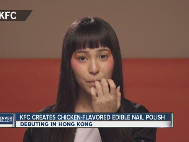 KFC releasing edible nail polish that tastes like chicken - 7NEWS ...