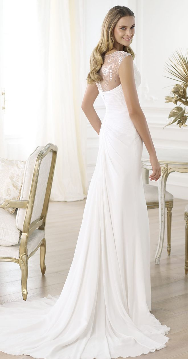 Pronovias 2014 Fashion Collection - Belle the Magazine . The Wedding Blog For The Sophisticated Bride