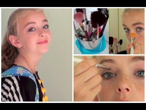 The Prettibloom Blog: Preteen Makeup Tutorial - YouTube                                                                                                                                                                                 More