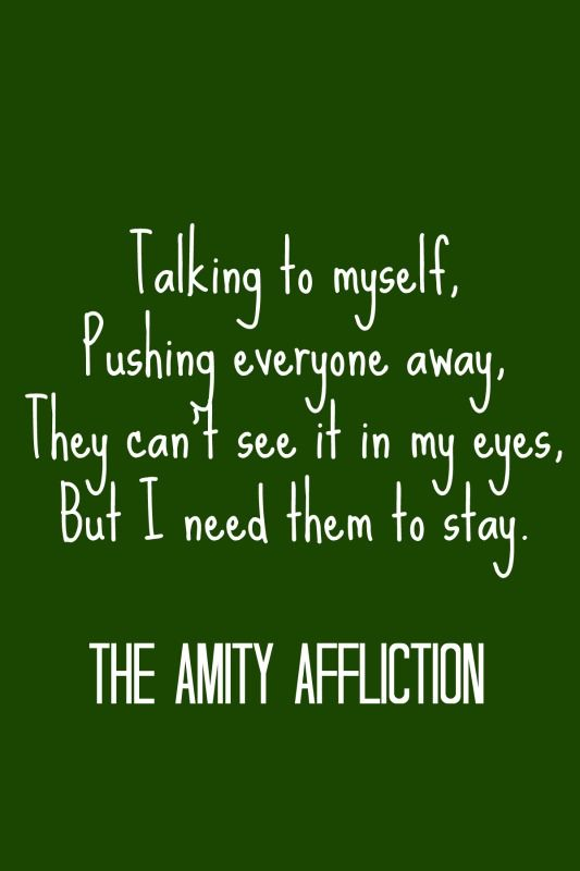 The amity affliction this could be heartbreak some friends lyrics
