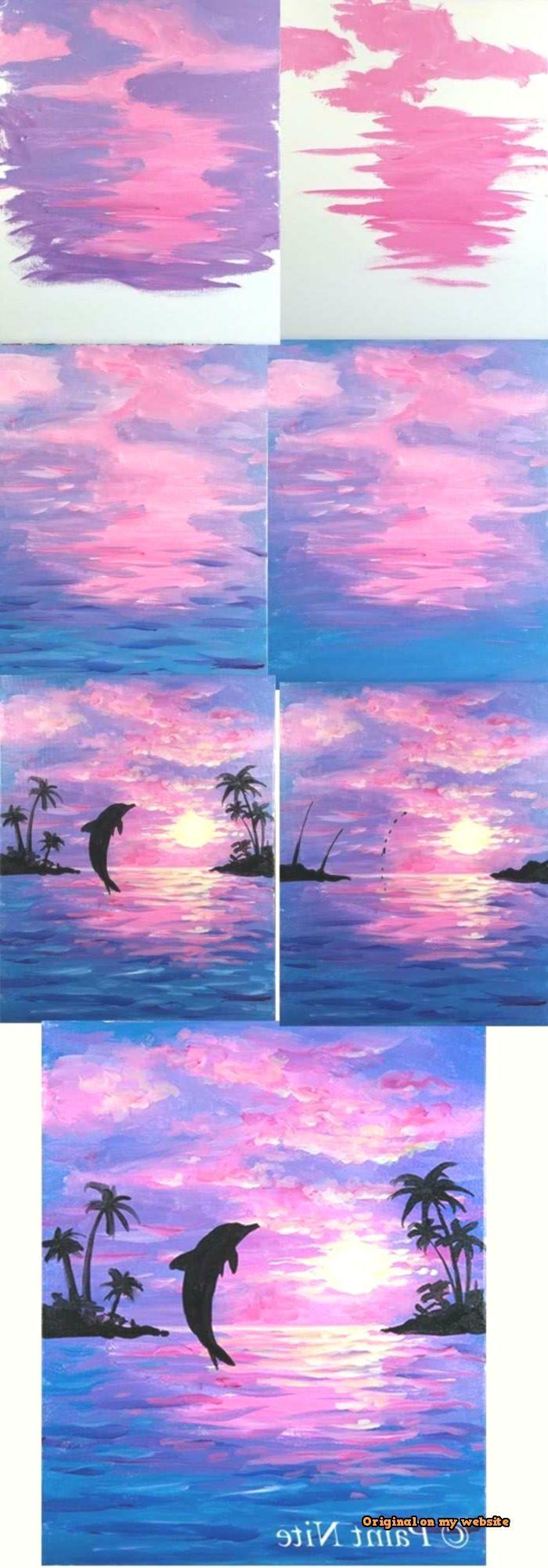 Canvas Art Ideas Acrylics – Acrylic Painting for B…