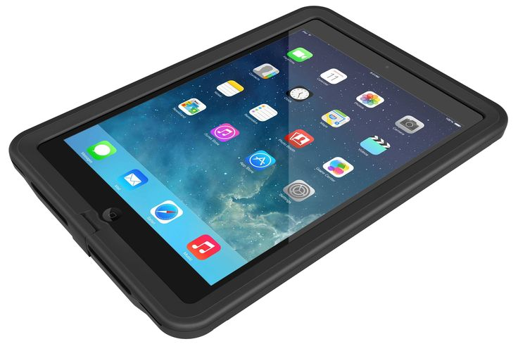 LifeProof Fre Case suits iPad Air - Black/Black -   The fre is a thin and light all-protective case for the iPad Air with full screen protection and complete access to every button, control and port...
