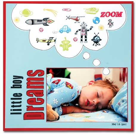 little boy dreams via techniquetuesday.com  (now I can use the pics of my kids sleeping)