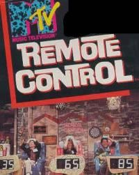 Remote Control on MTV  not a book but part of my youth