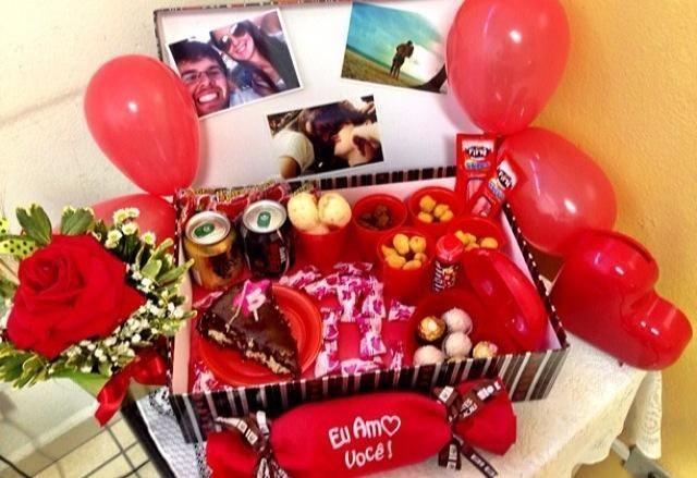 Festa na caixa: Um presente diferente e cheio de amor.