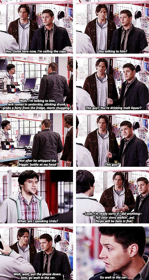 [gifset] 2x14 Born Under A Bad Sign #SPNS2 #Dean #Sam