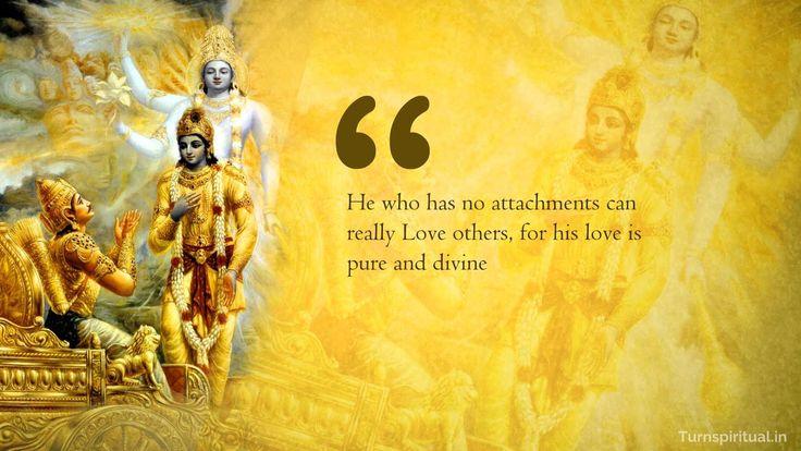 Lord Krishna quotes on Love from Bhagavadgita -  Radha Krishna HD wallpapers, free download