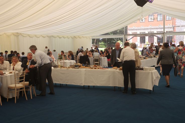 Lunch for Year 13s and their parents, following Prize Giving 2016
