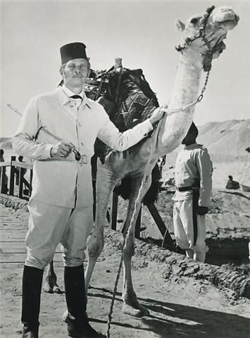 Here's a gem of a still from reader (and resident Charlton Heston expert) William Burge. Heston portrayed General Gordon in the superb 1966 epic Khartoum, co-starring with Laurence Olivier.