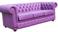 purple leather sofa - Bing Images