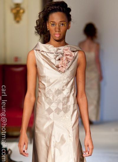 Nini dress, origami folded, unique