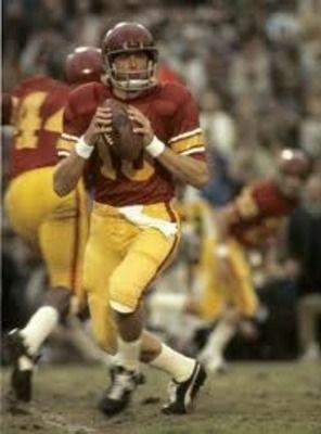 USC Trojan quarterback Pat Haden***Research for possible future project.
