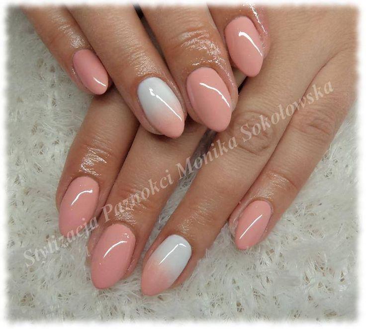 paznokcie żelowe migdałki fioletowe - Szukaj w Google