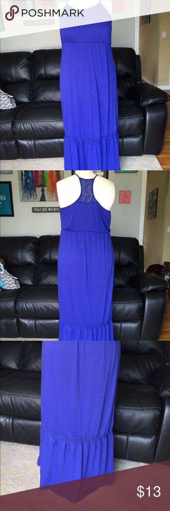🌉Electric Blue Boho Maxi🌉 Gorgeous color!!! Dresses Maxi