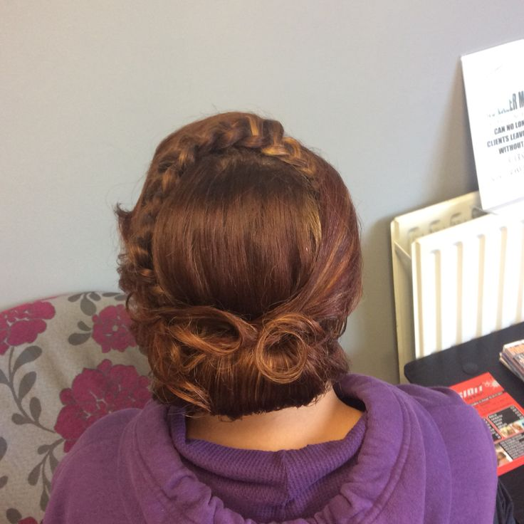Decorated twist with plait