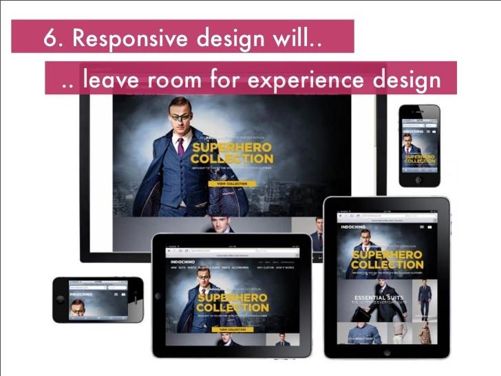 Experience design- Digital trends 2013