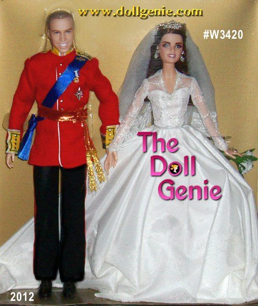Barbie Wedding Doll Set: This Barbie And Ken As Prince William And Catherine