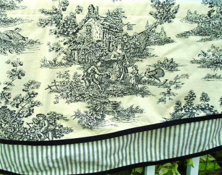 1000 Ideas About Toile Curtains On Pinterest Tab Top