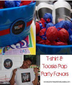 Kustom Kreations Phtography & Celebration Decor: WWE Smackdown Pool Party
