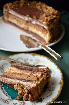 Tort grilias ciocolata nuci caramelizate (13)