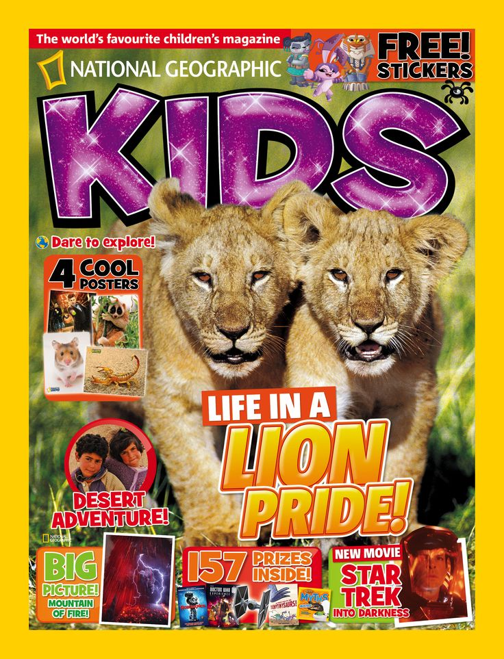 National Geographic Kids. June 2013.