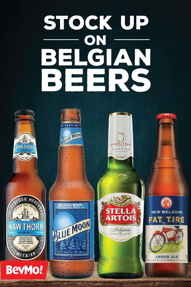 You can't beat a fan favorite—especially when it comes to delicious beers. With belgian bottles of Blue Moon, Stella Artois, Fat Tire, and Hawthorne, the options are endless. So, before game day, make sure to stock up on craft brews with help from BevMo!