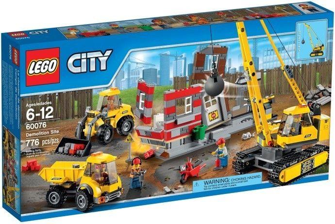 Lego City 60076 Demoliční práce na staveništi - 0
