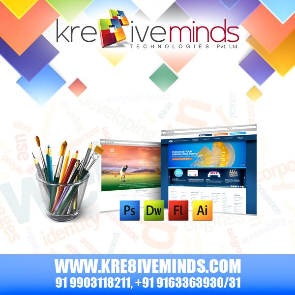 It is very important to maintain your website for boosting business prospects. Therefore, always look around for companies that provide innovative and creative #webdesign and #webdevelopment service. At http://www.kre8iveminds.com/ we have the best web developers from industry who provide you with exactly what you want and that too at an affordable cost!