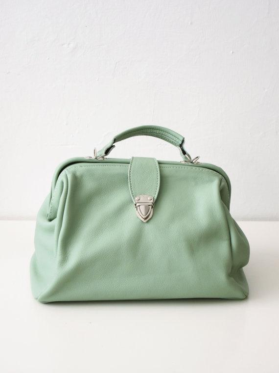 floppy Dr bag in pastel green