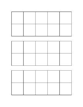 Printable frames, Frame template and Ten frames on Pinterest