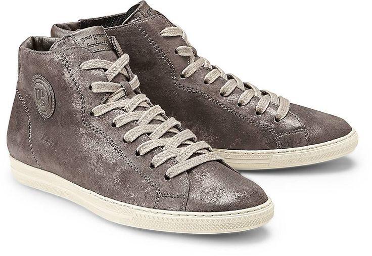 Diese Schuhe punkten in Taupe in Kombination aus weichen Leder-Arten, welche mit der klassischen Paul Green-Applikation versehen ist.