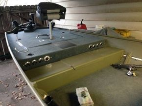 Duck Boat Jon Restoration Storage Fishing Boats Bass Aluminum Stuff