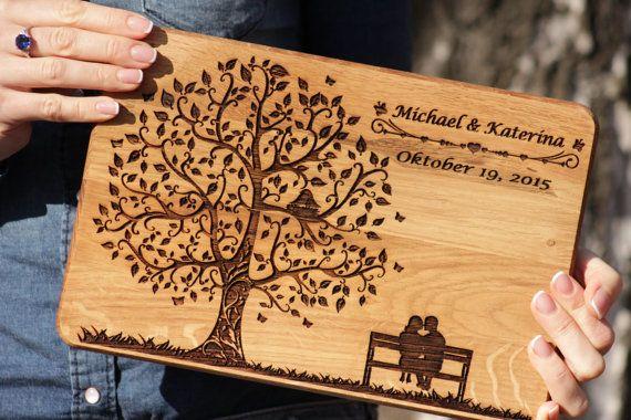 Personalized  Wedding Cutting Board, Wedding gift cutting board, Personalized gift for the couple, cutting board weddding gift, gift for Her